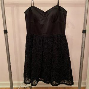 Black Adrianna Papell Boutique dress